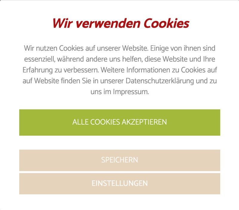 Cookie Banner Opt-In